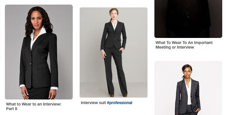 Professional Dress Business Career Services